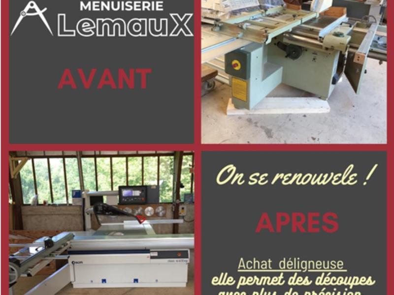 De nouvelles machines chez Lemaux
