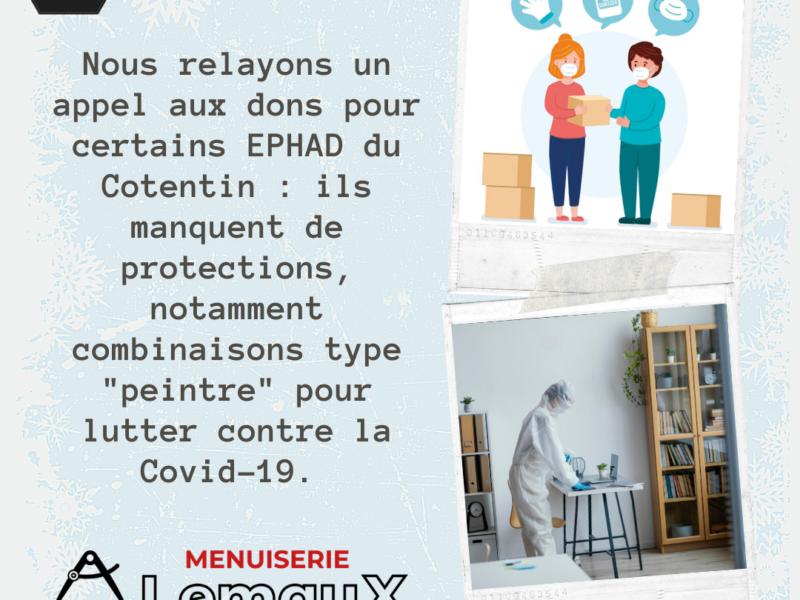 Appel au don – Covid-19