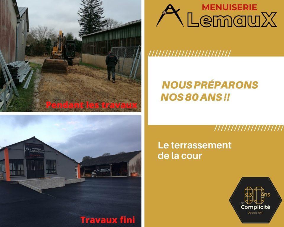 Carnet de vie de La menuiserie LEMAUX